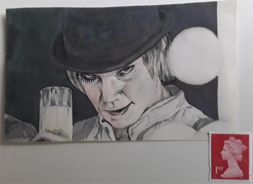 Malcolm McDowell by Sazz